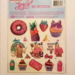 Nickelodeon Accessories - JOJO SIWA 25 TATOOS SET